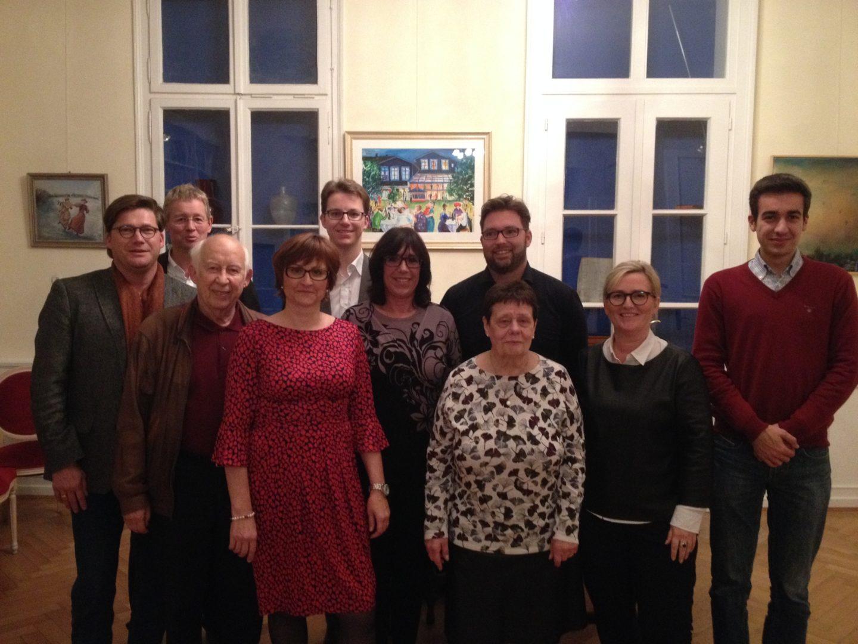 Das Bild zeigt den neuen Vorstand der CDU Mettmann